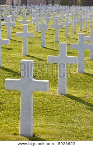 American Cemetery Colleville-sur-mer Omaha Beach Normandy France