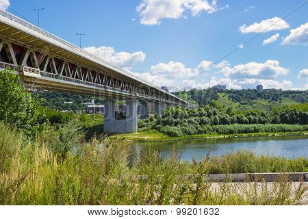 Metro Bridge, Nizhny Novgorod, Russia