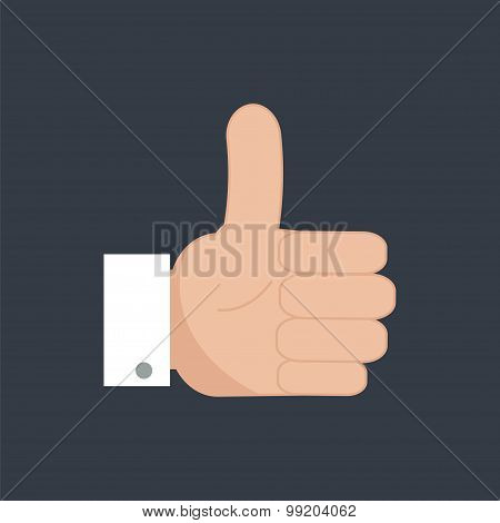 Thumb Up Icon. Like Icon.