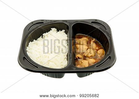 Teriyaki Chicken With Jasmine Rice, An Innovative Instant Meal For A Hectic Life.