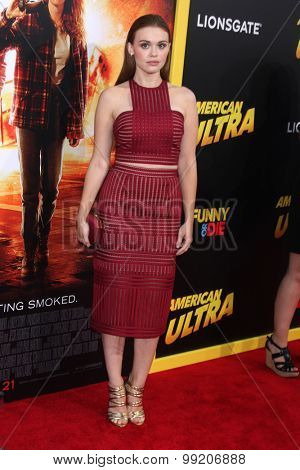 LOS ANGELES - AUG 18:  Holland Roden at the