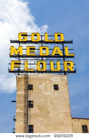 The Gold Medal Flour Sign