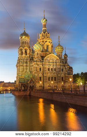 Church Of The Savior On Blood At St.petersburg, Russia