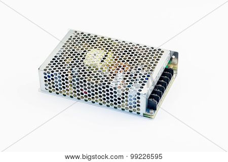 Power Supply for Computer on white background