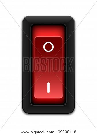 Power Switch Icon, Vector