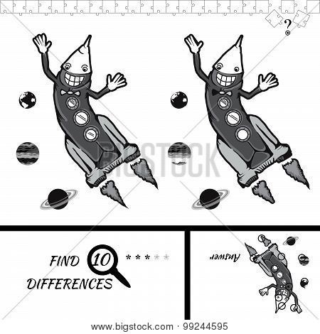Find Ten Difference Game