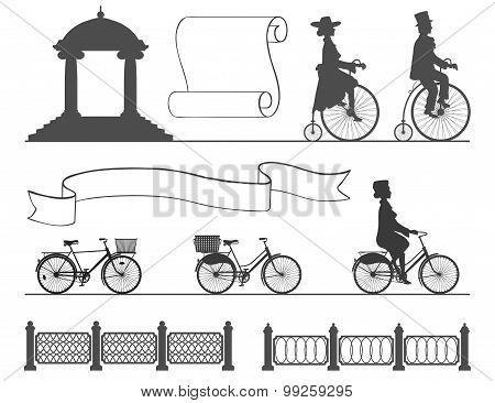 from the ancient to the modern bicycle without changing habits