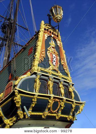 """voc ship, """"batavia"""", holland poster"""