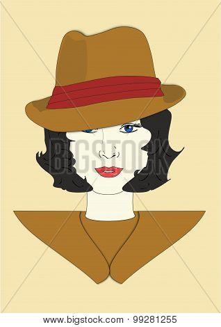 Millicent's Fedora Hat