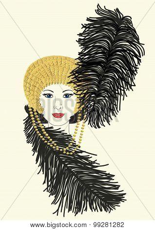 Millicent's Mardi Gras Hat