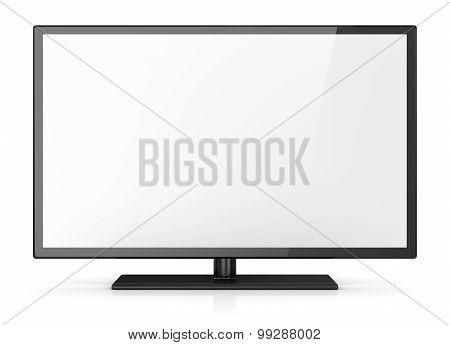 Empty Screen Hd Tv