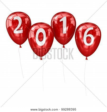 New Year 2016 Balloon