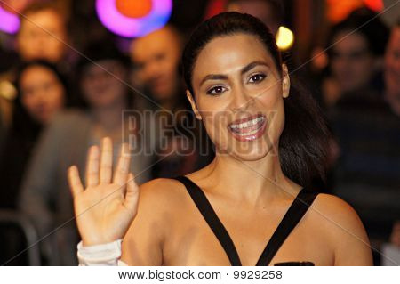 Yasmine Elmasri At The Miral Premiere In Central London 18 October 2010