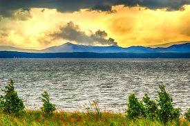 Lake Uvildy Chelyabinsk Region Russia Siberia