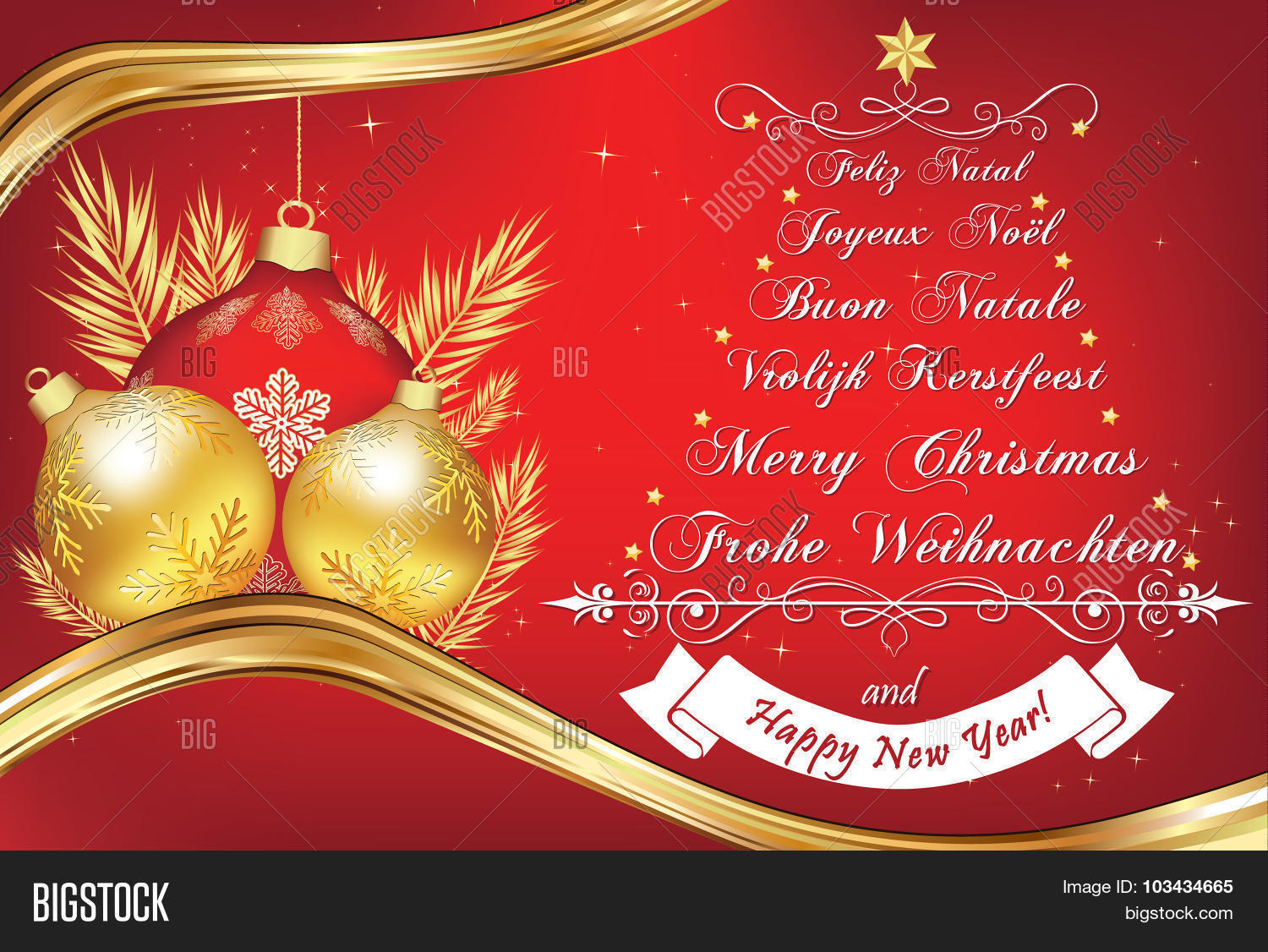 Christmas wishes many languages vector photo bigstock christmas wishes in many languages kristyandbryce Gallery
