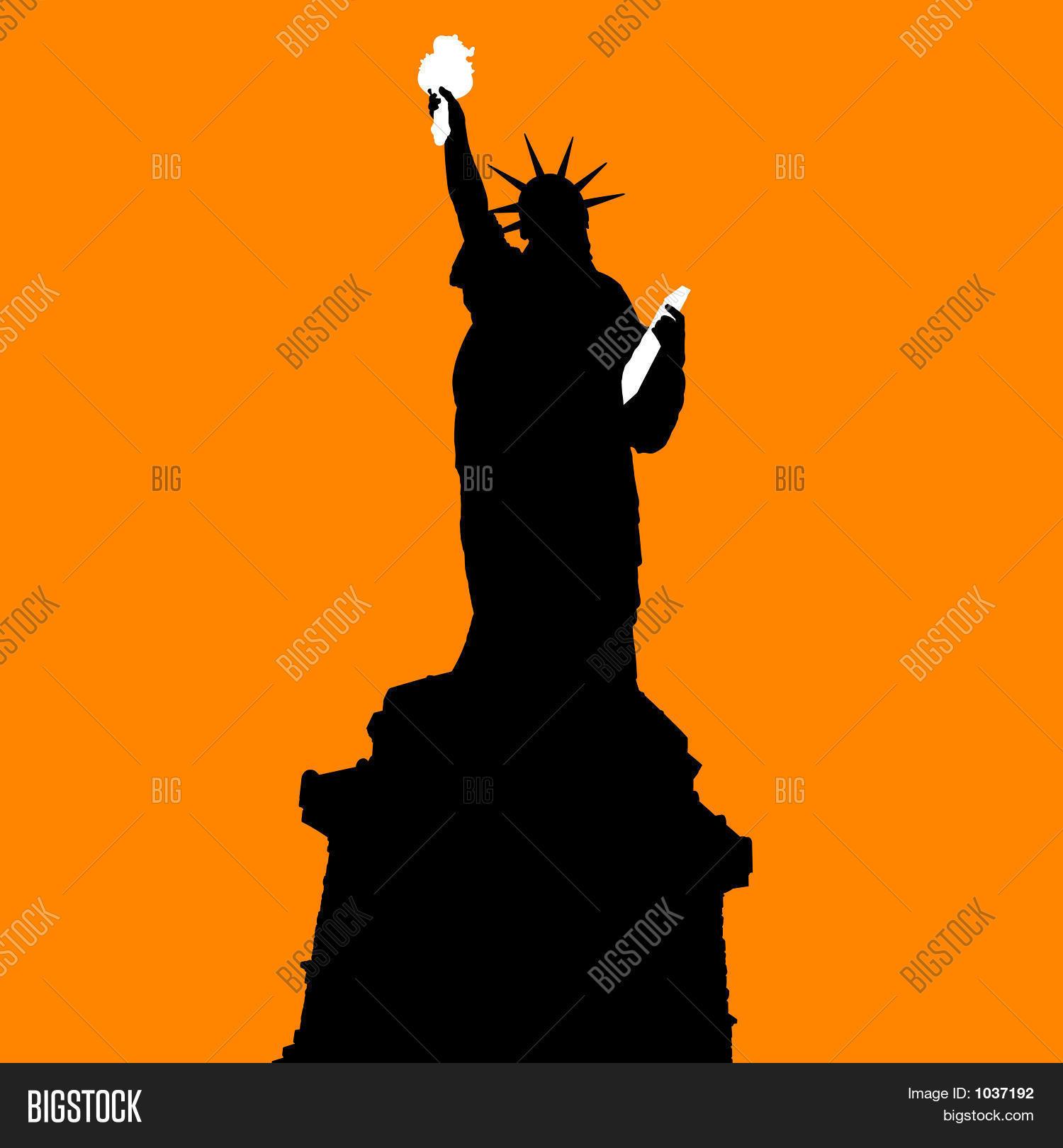 statue liberty on image photo free trial bigstock