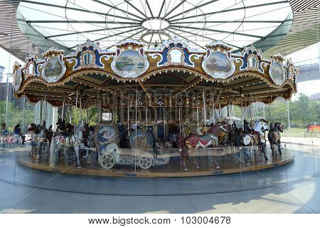 Jane's Carousel at Brooklyn