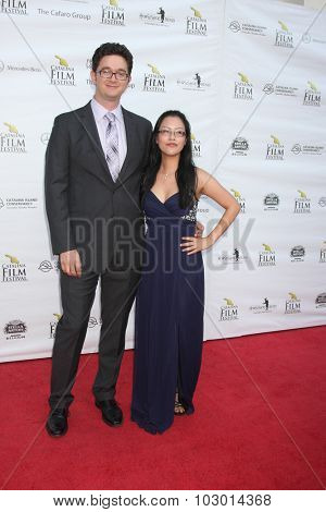 LOS ANGELES - SEP 26:  James Codeglia, Winnie Fong at the Catalina Film Festival Saturday Gala at the Avalon Theater on September 26, 2015 in Avalon, CA