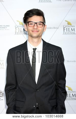 LOS ANGELES - SEP 26:  Brandon Woodward at the Catalina Film Festival Saturday Gala at the Avalon Theater on September 26, 2015 in Avalon, CA