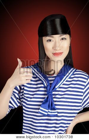 Chinese Girl Sailor