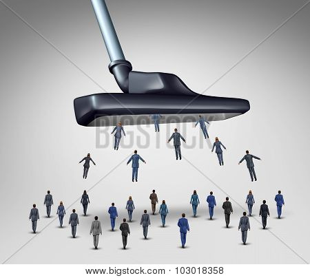 Employee Management Concept