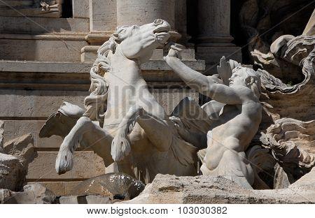 Fountain Of Trevi Triton