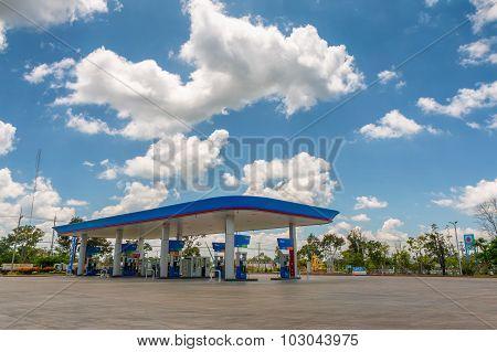Fuel Station.
