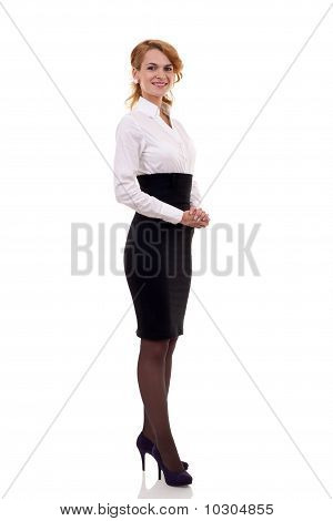 Happy Business Woman