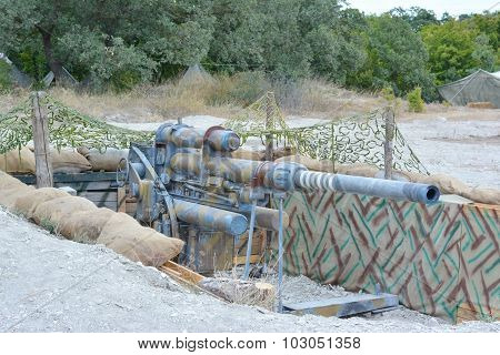 The Old German Cannon