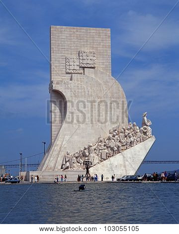 Discoveries Monument, Lisbon.