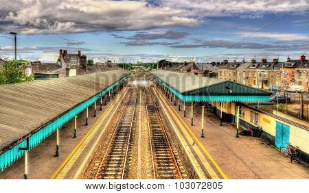 Coleraine Railway Station - County Londonderry, Northern Ireland