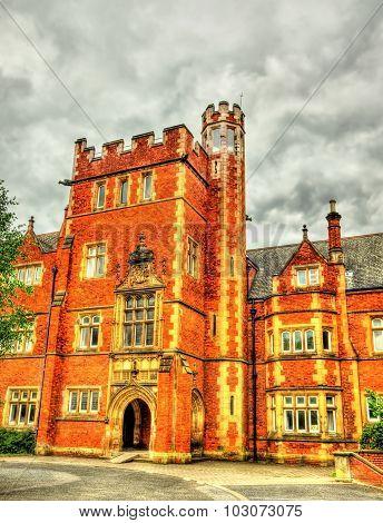 A Tower Of Queen's University Belfast - Northern Ireland