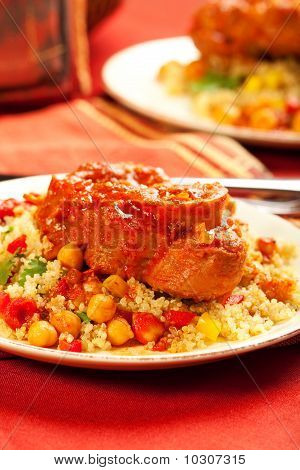 Moroccan Veal