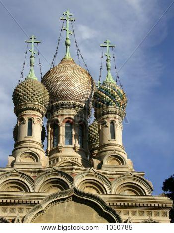 Russian Church In Sanremo