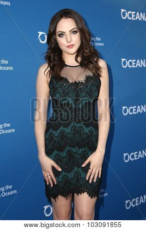 LOS ANGELES - SEP 28:  Liz Gillies at the
