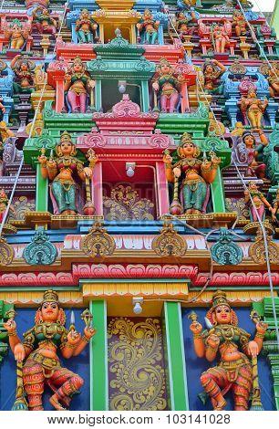 Hindu Temple In Rangoon Yangon