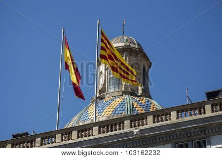 Catalonia Flags