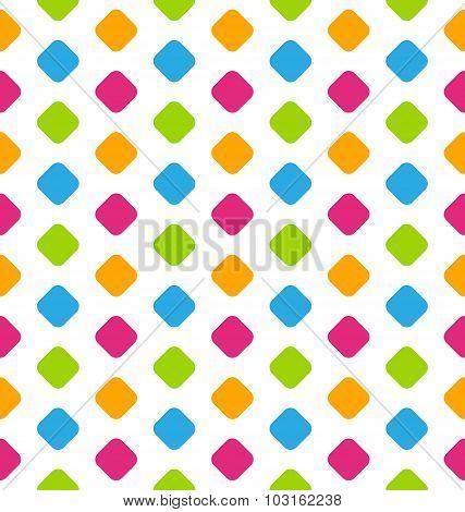 Seamless Geometric Pattern, Colorful Kid Pattern