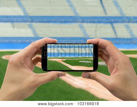 Photographing A Baseball Stadium