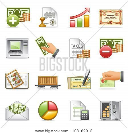 Finance Icons,