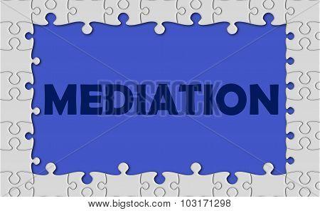 Mediation With Jigsaw Border