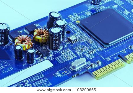 Electronic Coil And Cpu