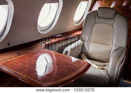 Business Class On The Plane