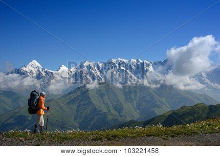 Mountain Walking In Summer