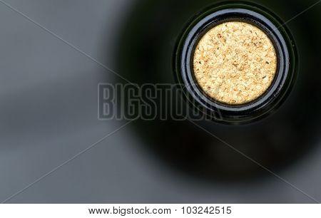 Macro Closeup Wine Bottle Cork