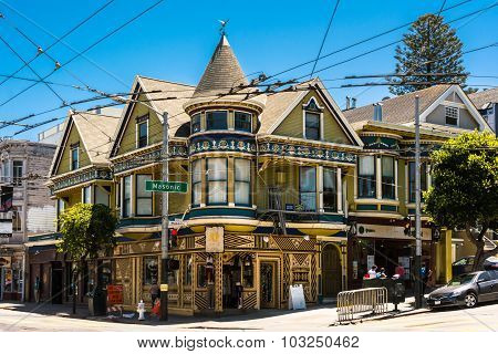 Haight and Masonic in San Francisco