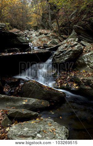 Little Cascade Among the Boulders