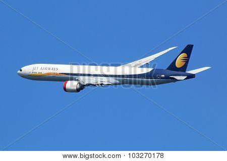 Jet Airways Boeing 777-300 Airplane
