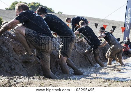 Tough Mudder 2015 London South A