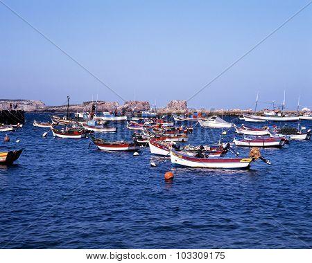 Sagres Harbour.